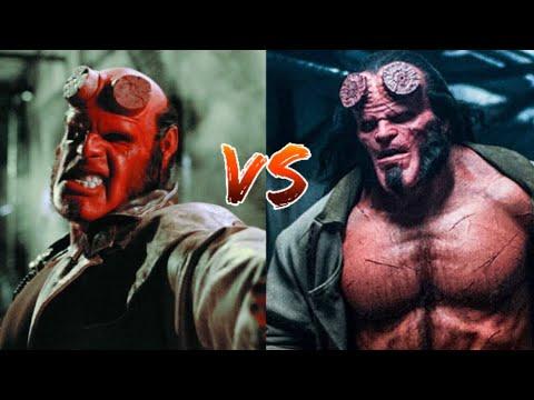 Hellboy Ron Perlman vs Hellboy David Harbour