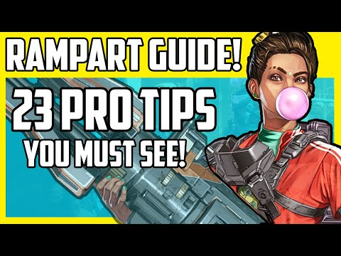 Apex Legends Rampart Guide - 23 Must See Tips And Advanced Abilities Explained in Season 6!