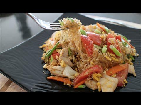 "Glass Noodle Stir-Fry ""Pad Woon Sen"" – Hot Thai Kitchen!"