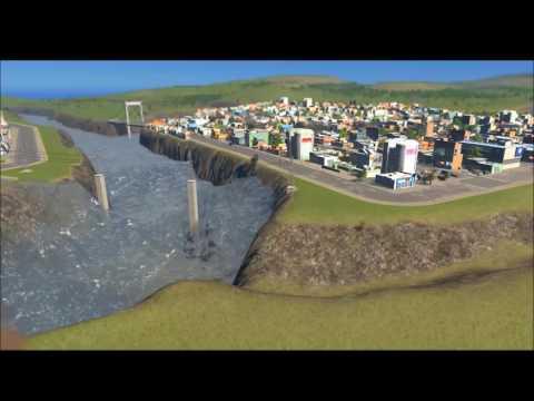 Citeis:Skylines 10.0 Earthquake vs 25.5 Earthquake (short Video)