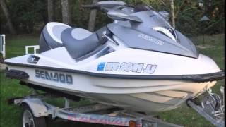 10. 2006 Sea-Doo GTX Supercharged JetSki w/ 37 Hours $6180