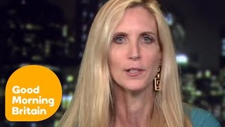 Video Piers Morgan & Ann Coulter Clash Over Banning Muslims From The United States   Good Morning Britain MP3, 3GP, MP4, WEBM, AVI, FLV Agustus 2018