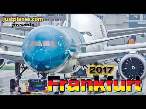 FRANKFURT Airport Action 2017