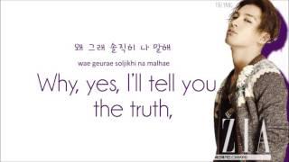 Big Bang - Bad Boy (Color Coded Lyrics: Hangul, Romaji, English)