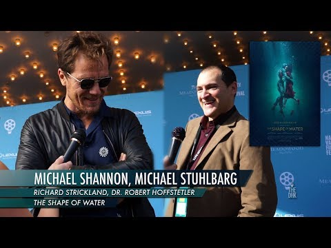 'The Shape of Water' Interview | Michael Shannon and Michael Stuhlbarg
