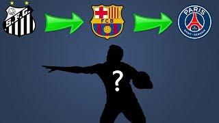 Quiz de Futebol - Consegue adivinhar o jogador pelos times que ele jogou ?