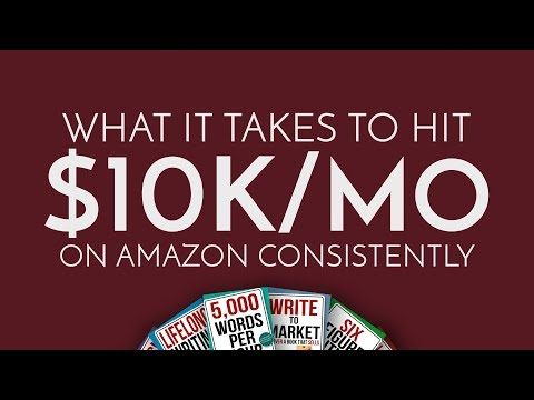 What It Takes To Hit $10k A Month On Amazon Consistently