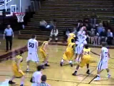 Guilford Men's Basketball vs. Randolph-Macon 1/29/11 Highlights