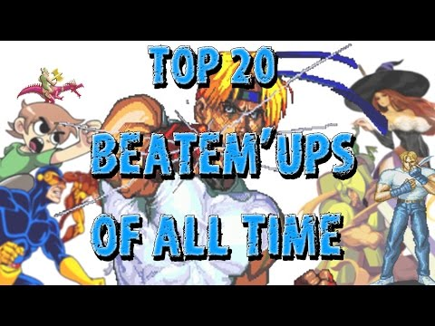 TOP 20 BEATEM UP GAMES OF ALL TIME - Gersonzero