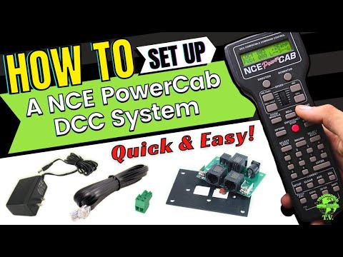"How To Operate A NCE ""Power Cab"" DCC System"