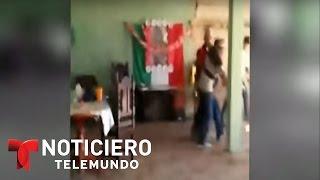 Perturbadoras imágenes del asesinato de un hombre en México | Noticiero | Noticias Telemundo