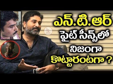 జూనియర్ ఎన్టీఆర్ నిజంగానే కొట్టారా ? Actor Rajiv Kanakala About Jr Ntr | Eagle Media Works