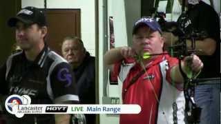 Men's Unlimited Shoot Up - Jesse Broadwater - 2013 Lancaster Archery Classic