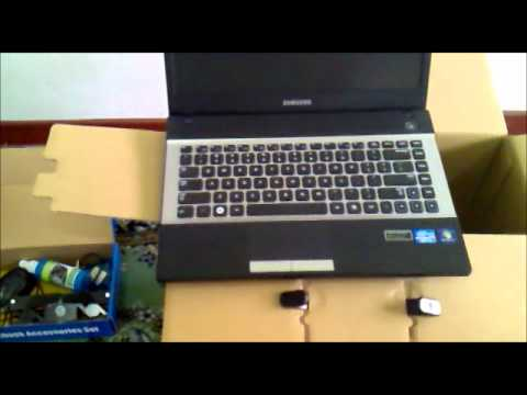 SAMSUNG NP300 Series 3 Review & unboxing 2012