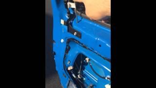 FJ Cruiser rear door inside release mod