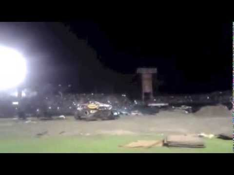 Video - Scary Monster Truck Close Call!