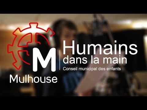 Humains dans la main -  Conseil municipal des enfants de Mulhouse