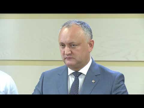 Șeful statului cheamă poporul Republicii Moldova la un marș pașnic