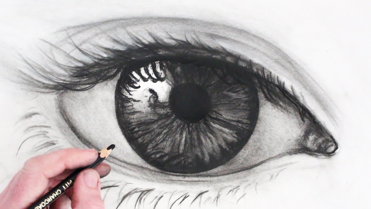 How To Draw A Realistic Eye: Narrated Sketch How To Draw Mouths Step By Step