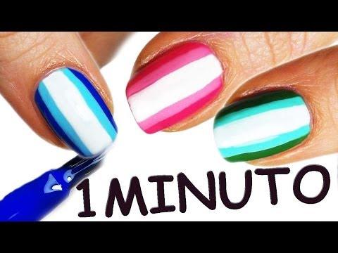 nail art in 1 solo minuto!!!