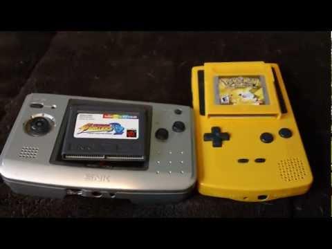 Gameboy Color VS. Neo Geo Pocket Color HD