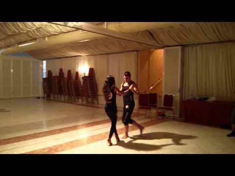 Kike y Fania - Bachata con acappella del Oslo Show Team (видео)