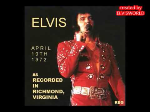 ELVIS PRESLEY, RECORDED LIVE IN RICHMOND 1972  COMPLETE CD