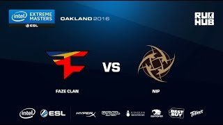 IEM Oakland - FaZe Clan vs NiP - map3 - de_overpass - [CrystalMay]