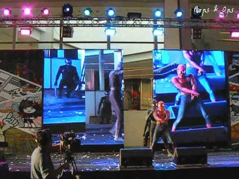Thailand Comic Con Cosplay Performance Contest Team 10 – Spider-Man