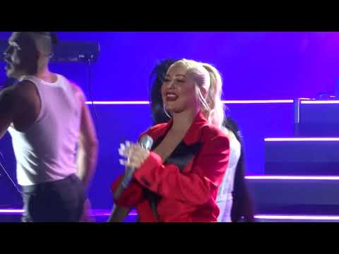 Christina Aguilera - Ain't No Other Man - LIVE in L.A. 2018-10-26