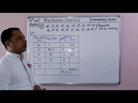 Miscellaneous Exercise 2.problem. 1 To 5. 8th Maths Maharashtra Board By Sgt Classes