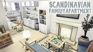 Scandinavian Family Apartment    The Sims 4 Apartment Renovation: Speed Build