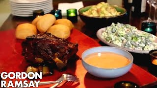 Smoky Pulled Pork with Chipotle Mayonnaise | Gordon Ramsay by Gordon Ramsay