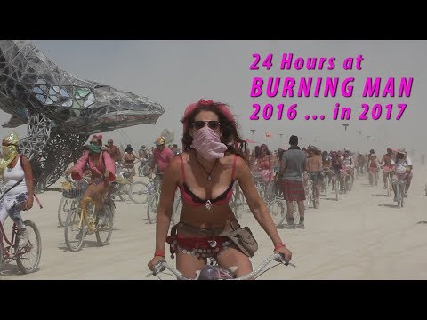 Captivating Footage That Gives a Look Inside 24 Hours of Burning Man