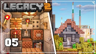 MECHANICAL Radio Operations! - Legacy SMP 2: Episode 5 (Minecraft 1.16 Survival Multiplayer)