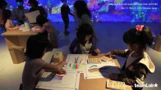 【自分の描いた絵が泳いでる!!】チームラボが手がける子供も大喜びのSketch Aquariumが楽しい