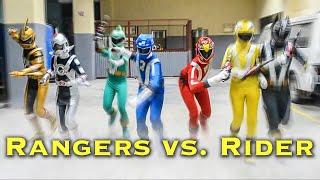 RANGERS vs. RIDER [FAN FILM]