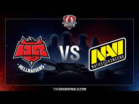 WGL GF 2016 - Grand Finals - Hellraisers vs NAVI