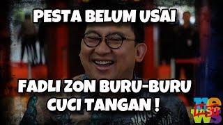 Video Pesta Belum Usai Tapi Fadli Zon Buru-buru Cuci Tangan MP3, 3GP, MP4, WEBM, AVI, FLV Januari 2019