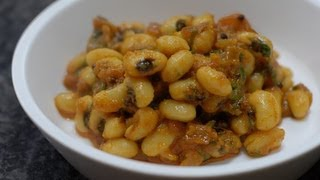Black Eyed Bean Chawli kathod  - By Vahchef @ vahrehvah.com