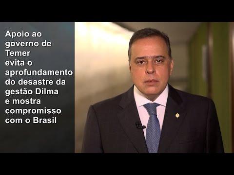 Paulo Abi-Ackel: apoio ao governo, evitando desastre com Dilma