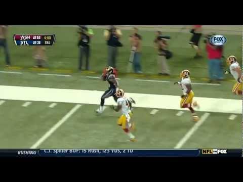 St. Louis Rams Rookie Darryl Richardson Long Run