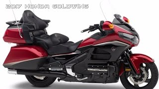 5. GREATEST !!! 2017 Honda Goldwing NEW STYLISH DESIGN