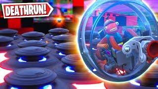 Giant Baller Vehicle Parkour Course! (Fortnite Creative Mode)