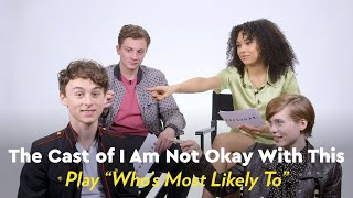 I Am Not Okay With This Cast Play Who's Most Likely To by POPSUGAR Girls' Guide