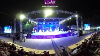 شاهد عرض فرقة نجوم واصل للدبكة الشعبية بتقنية 360 درجة