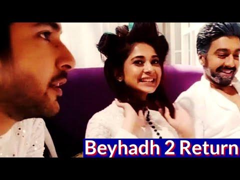 Beyhadh Season 2 Return television Series Jennifer Winget and Shivin Narang and Aashish chaudhary