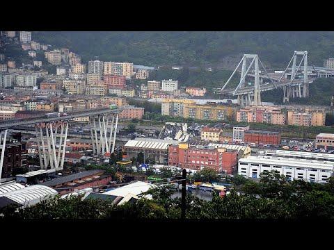 Ιταλία: Ανεβαίνει ο τραγικός απολογισμός – Τουλάχιστον 22 νεκροί στην κατάρρευση γέφυρας στη Γένο…