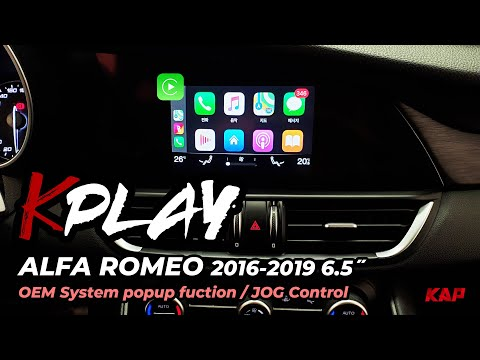 Alfa Romeo Giulia/stelvio 2016~2020 Carplay / Android AUTO