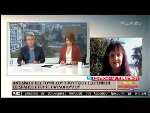 Συνεχίζει την προκλητικότητα η Τουρκία- Άμεσα απάντησε το ΥΠΕΞ | 08/11/2019 | ΕΡΤ